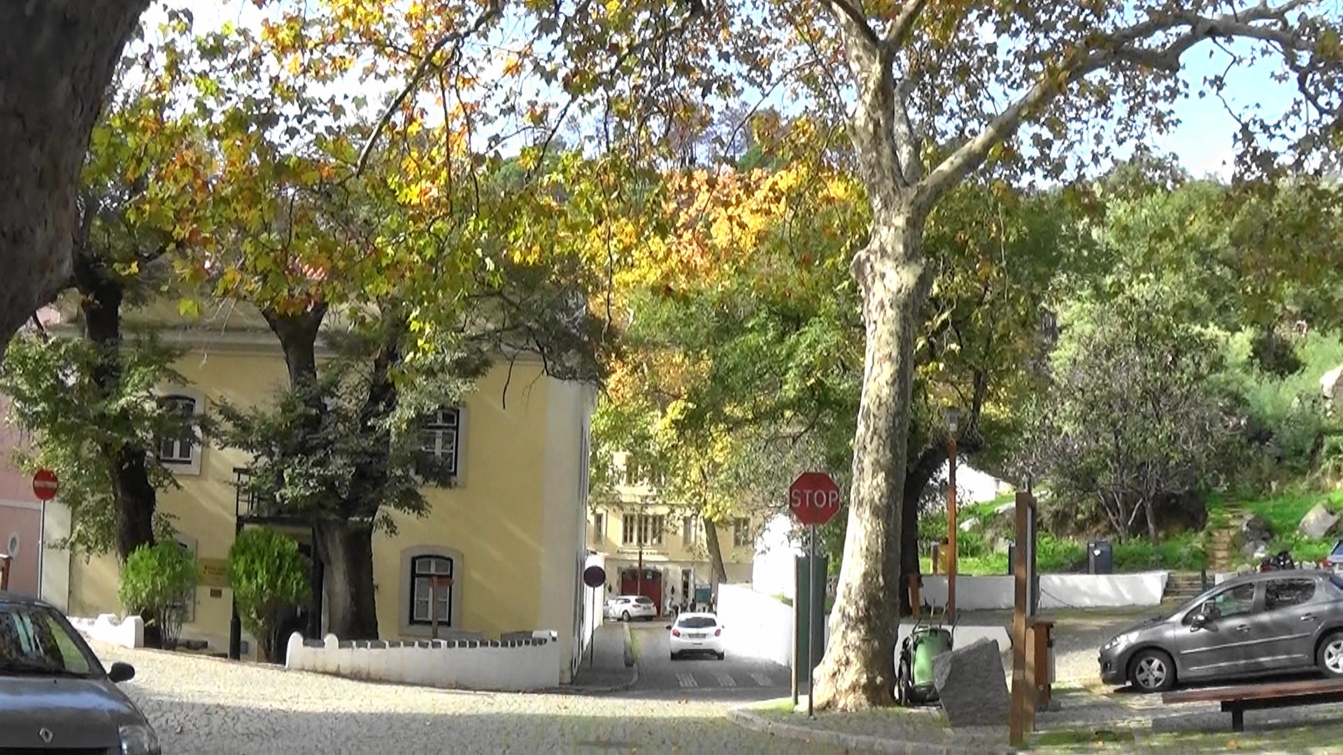 parking at Caldas de Monchique