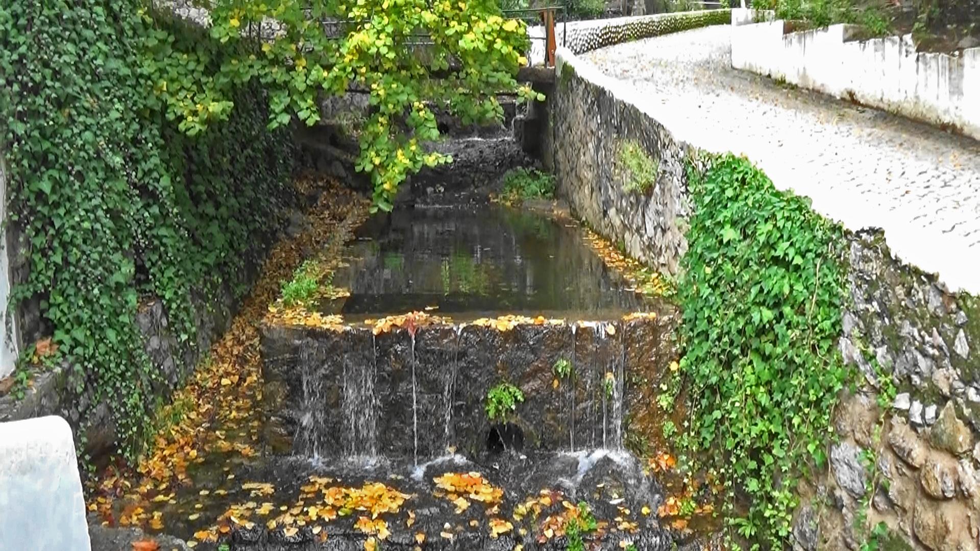water cascades at Caldas de Monchique